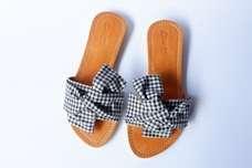 Flat shoes   SANDAL WANITA   BALI   KULIT   WWW.DSANDEK.COM