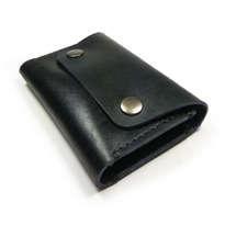 Dompet Kartu Kulit Asli Sapi Unik Dan Simpel Warna Hitam(Dompet Kulit)